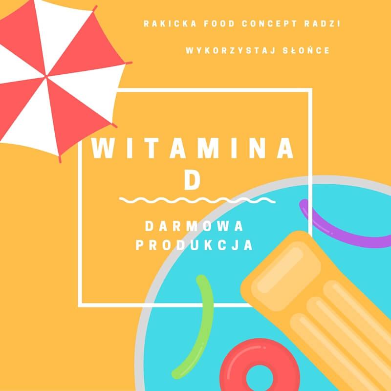 witamina D - darmowa produkcja