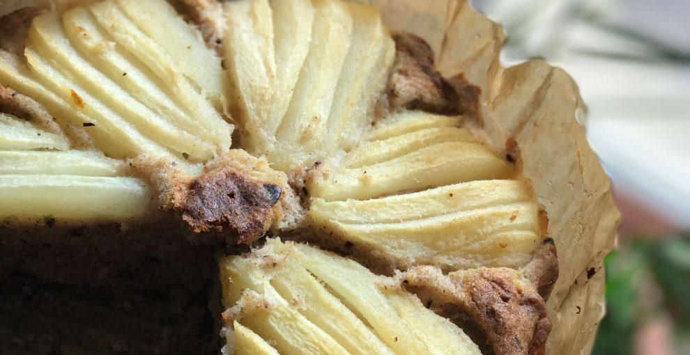 Ciasto gruszkowo-czekoladowe