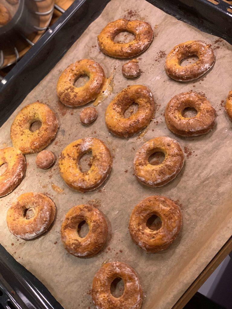 donuty bez tłuszczu