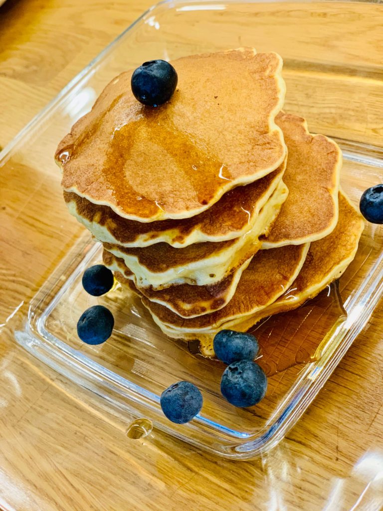 fluffy pancakes without sugar