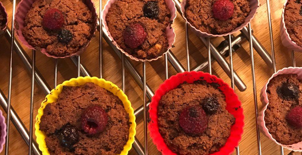 muffiny z mąki kokosowej