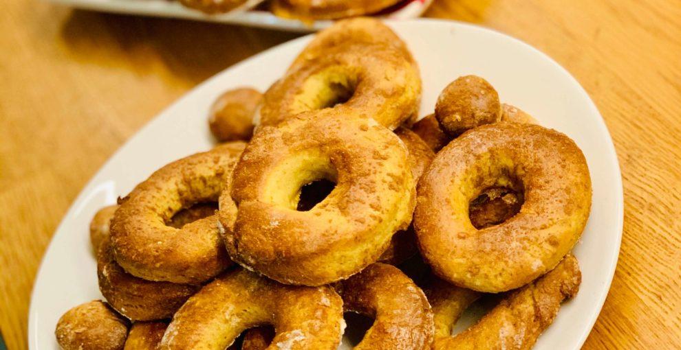 Donuty – pączki- oponki bez tłuszczu