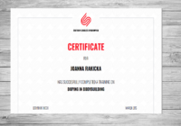 dopin certyfikat